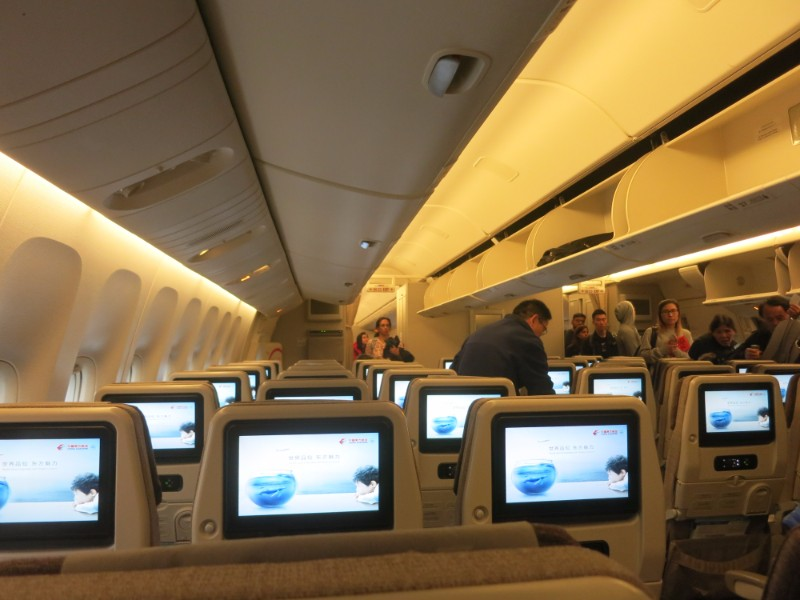 New Boeing 777 interior